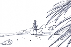 Strandbild, Storyboard
